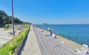 《夏休みオススメ》電車でGO!【神奈川県・横須賀海辺つり公園】