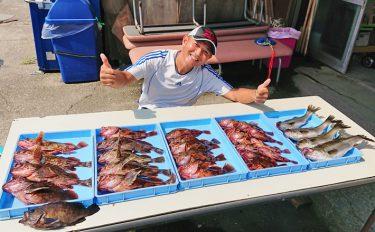 ボートルアー釣行:ジギング&キャスティングで爆釣【東京湾・林遊船】
