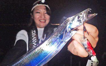波止タチウオ釣行:ウキ誘い釣りで8投8ヒット【大阪府・貝塚人工島】