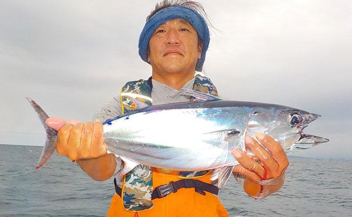 コマセマグカツ釣行:クーラー満タン早上がり!【静岡県・とび島丸】