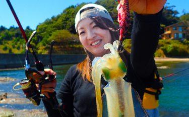 秋エギング釣行:日本海ランガンで楽しむアオリイカ【京都府・丹後】