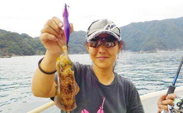 手こぎボートエギング釣行:アオリでイケス満タン【福井県・村上渡船】