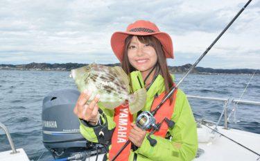 カワハギ釣行:レンタルボートで気ままに満喫【ヤマハ・シースタイル】