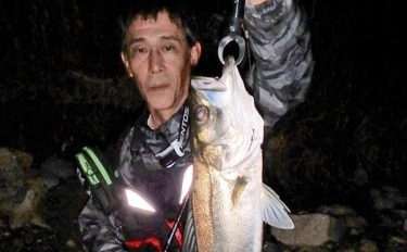 ルアーシーバス釣行:ウェーディングで本命【愛知県・木曽川&庄内川】