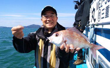 秋の盛期!ウタセマダイ釣行:チダイ交じりで16尾【三重県・幸徳丸】
