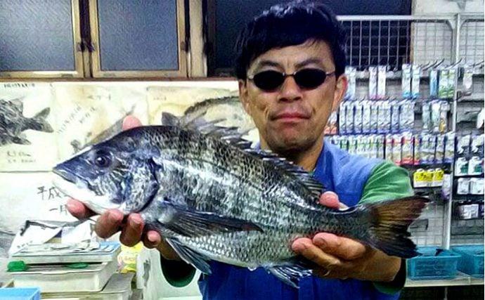 クロダイ落とし込み釣り:やっぱり杭周りにいた!【愛知県・名古屋港】