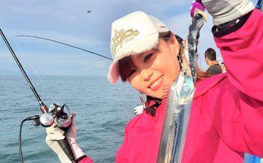 まさかの結末に涙!タチウオ大会予選で女性釣り師が奮闘!【大阪湾】