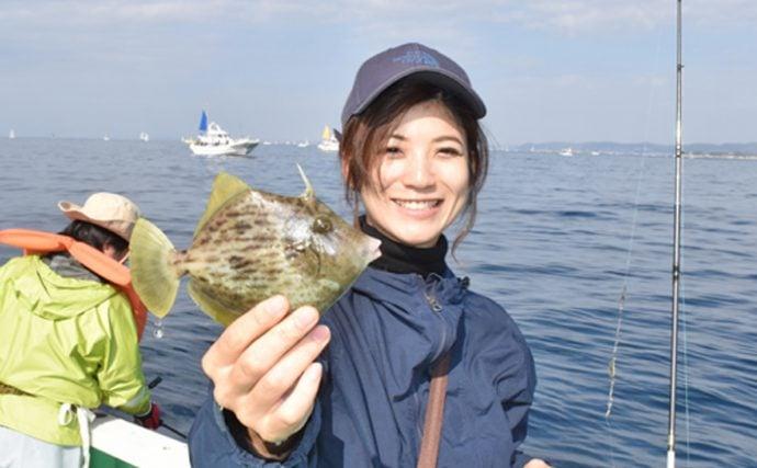 女性限定!?カワハギ釣り大会に潜入:動画付き!【神奈川県・瀬戸丸】