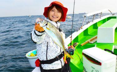 """""""みっぴ""""10年ぶりの釣りに挑戦!ライトウィリー五目【東京湾】"""