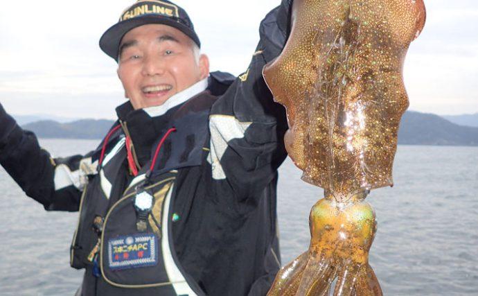 唯一無二の面白さ!ヤエン釣りでアオリイカ【和歌山県・湯浅の磯】