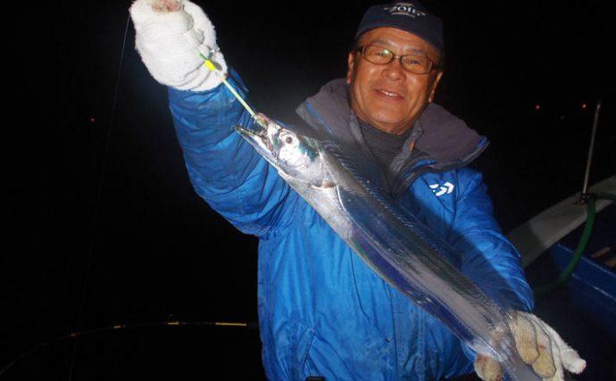駿河湾夜タチウオ釣り!大量釣果時おススメレシピも【静岡県・長徳丸】