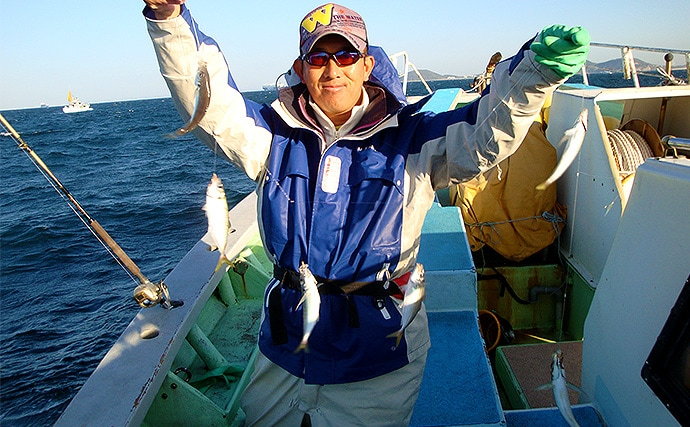 尺アジ含み121尾!多魚種!爆釣!船サビキ五目【愛知県・七福丸】