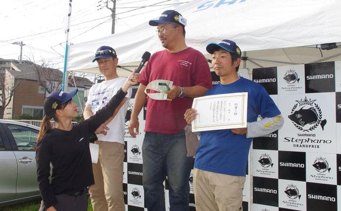 阪本智子が初の決勝戦進出!大好きなカワハギ釣り大会で夢の舞台満喫♪