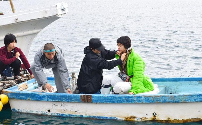 女性モード誌「SPUR」とコラボ!釣りガール最新トレンド取材潜入!
