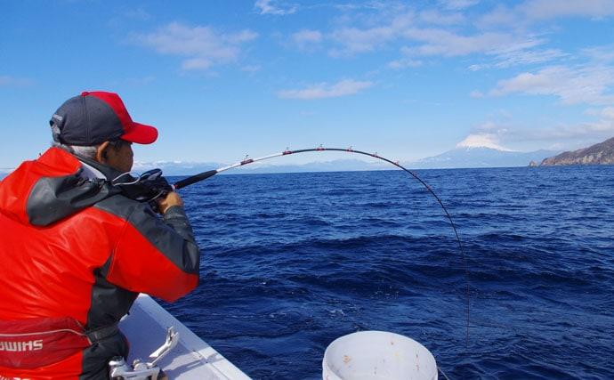 コマセマダイは待つ釣りにあらず!名手に密着取材【静岡県・とび島丸】