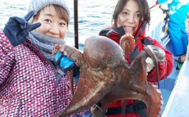 初釣りにいかが?マダコ釣り初心者入門!手釣りとエギタコ釣りのキホン