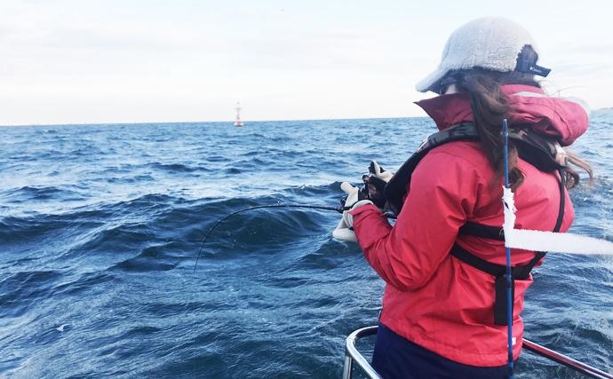 疲れにくい釣り方のポイント3選!女性視点タイラバ実釣解説【東京湾】