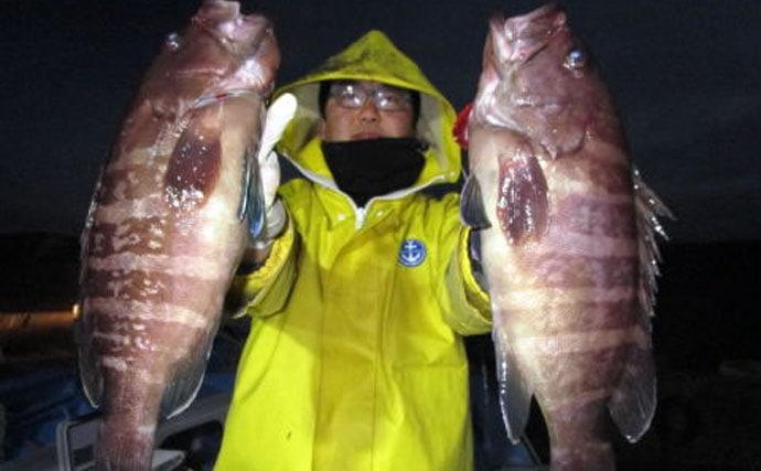 イワシ泳がせで狙う根魚五目釣り入門 高級ハタ類を狙え!【南房】