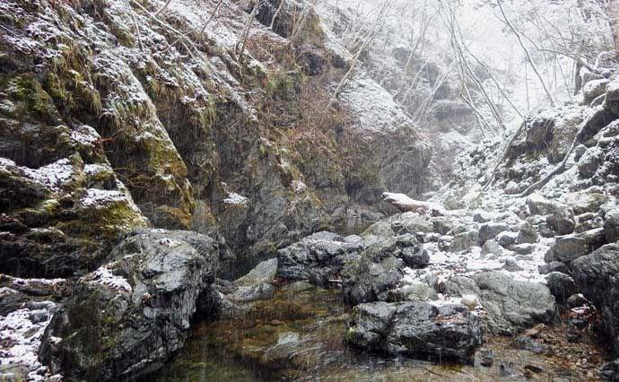 ヒレピンアマゴ20cm 天然魚を求めて奥座敷へ【奈良県・天の川】