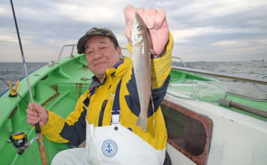 キス釣り最難関の落ちギス釣り トップは54尾!【神奈川県・弁天屋】