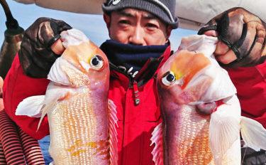 【響灘】沖釣り最新釣果情報まとめ 4kg大ダイに50cmアマダイ!