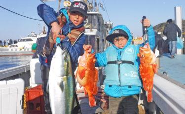 【壱岐&島原沖】沖釣り最新釣果情報 11kgブリにメバル60尾!