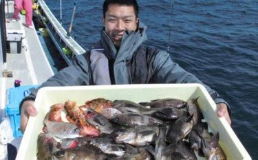 【伊良湖沖&志摩沖】船釣り根魚最新釣果情報 46cmオニカサゴ!