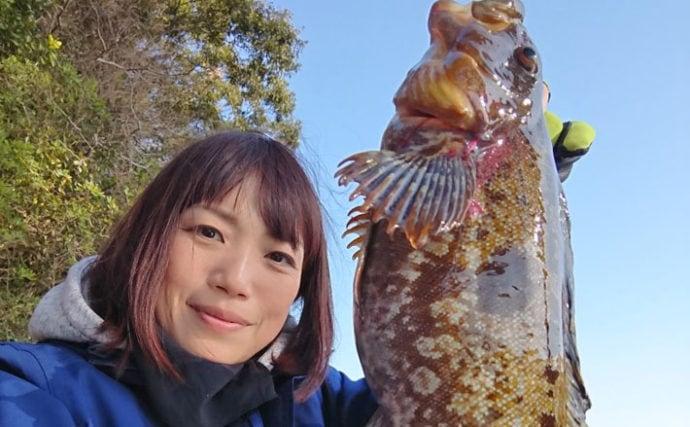 スーパーライトジギングでアイナメを調査する【長崎県・大村湾】
