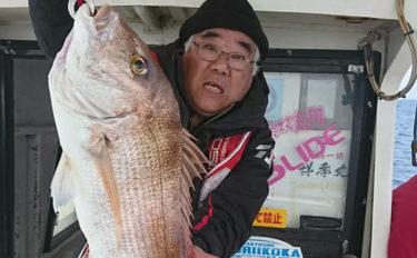 【響灘】沖釣り最新釣果情報 タイラバ・泳がせ・五目と釣り方色々!