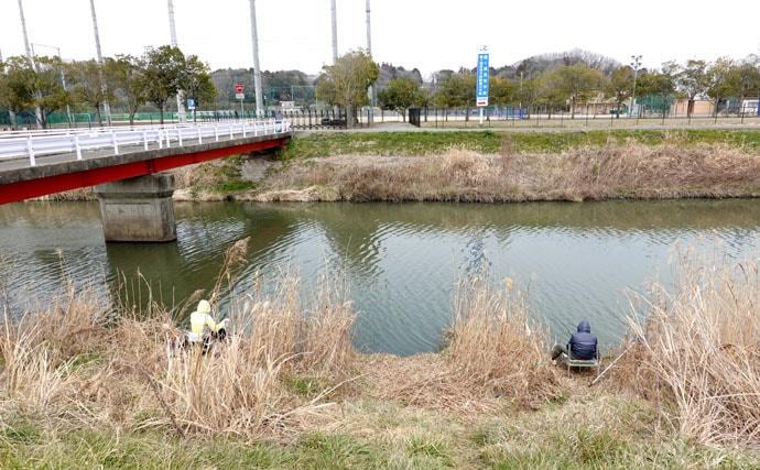 今週のヘラブナ推薦釣り場【茨城県・花室川】