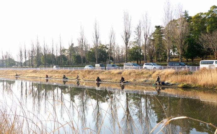 今週のヘラブナ推薦釣り場【茨城県・備前川】