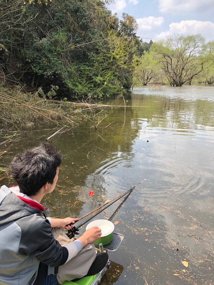 2019乗っ込みヘラブナ釣り タックル・エサ・釣り方のキホンを解説