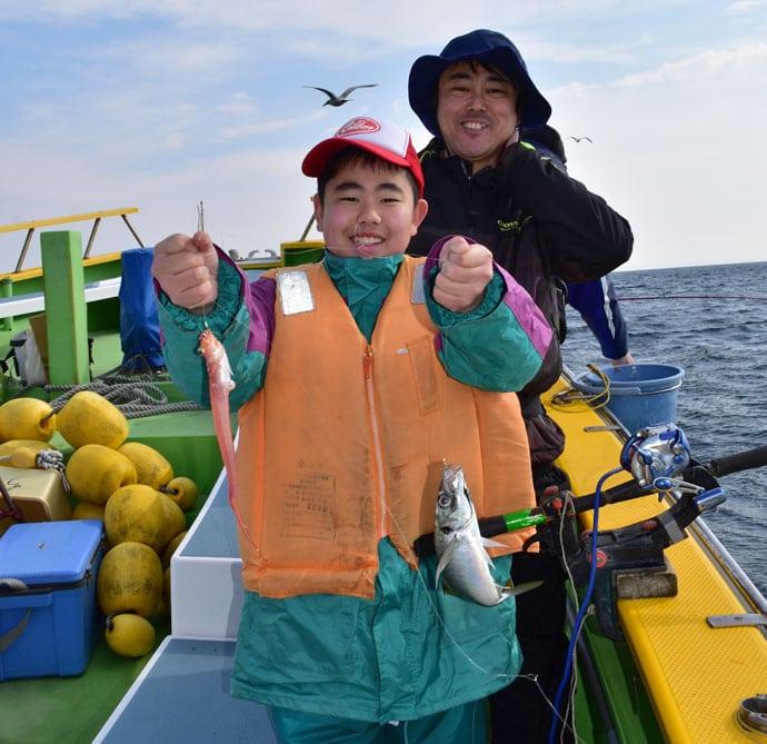 晴山由梨がLTアジ釣りイベントをレポート!【神奈川県・ちがさき丸】