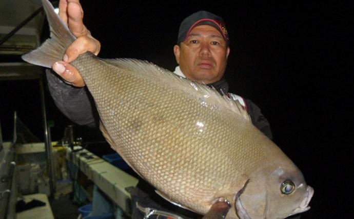 【長崎&佐賀】船釣り最新釣果情報 50cmメジナにマダイ42尾!