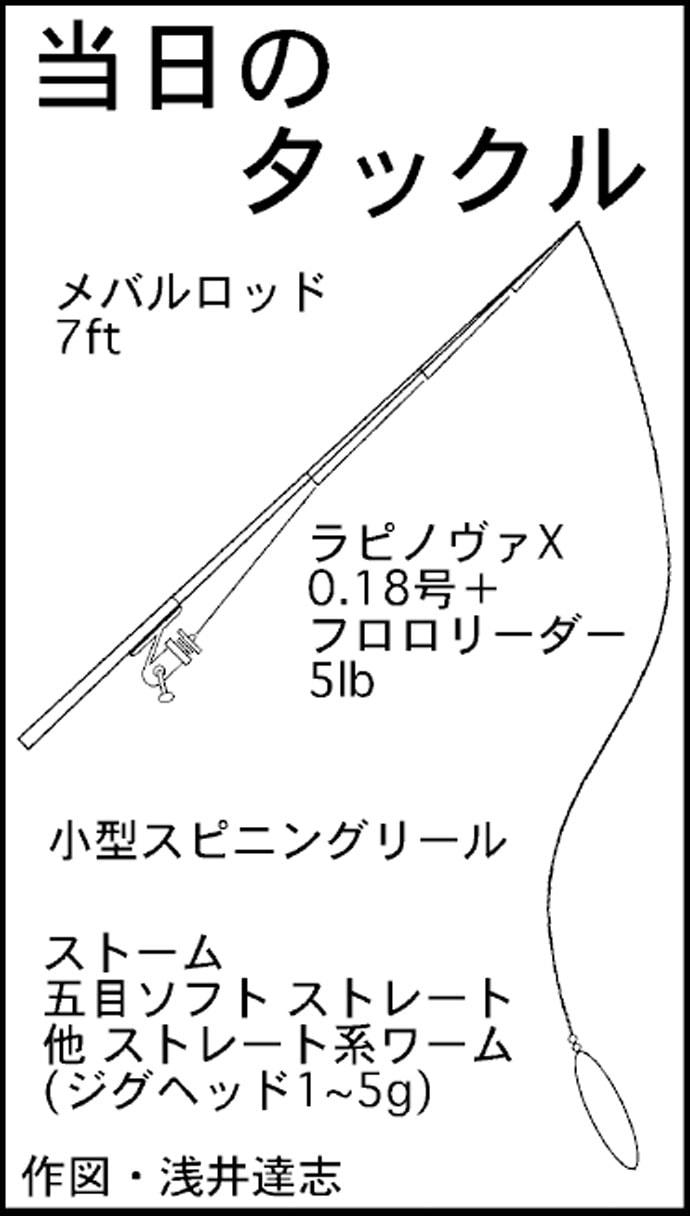ボートライトゲームで良型メバル2ケタ ラッシュタイムも【名古屋港】