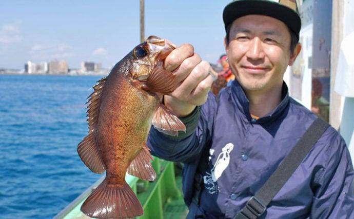活イワシメバル釣行 魚種豊富でサワラも?!【神奈川県・ちがさき丸】