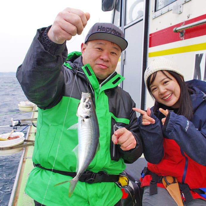 鈴原ありさがLTアジ釣りイベントをレポート!【神奈川県・まごう丸】