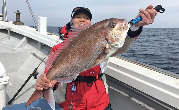 【玄界灘・響灘】沖釣り最新釣果情報まとめ 船中マダイ50尾!