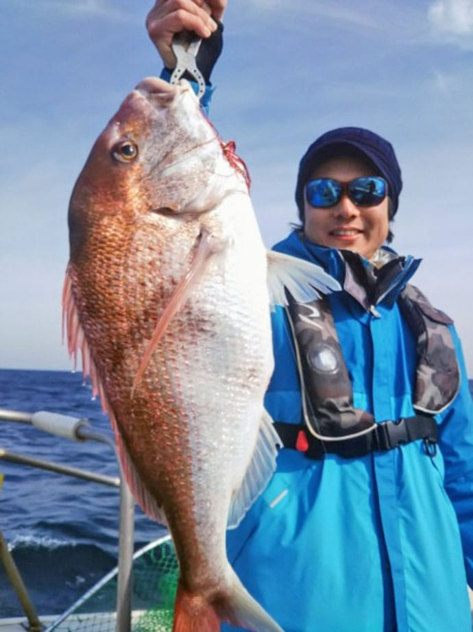 【響灘】沖釣り最新釣果情報 ジギング&タイラバ&五目釣りが好調!