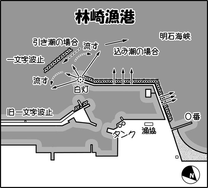 花見カレイ投げ釣りおすすめポイント6選 目指せ50cm!【兵庫県】