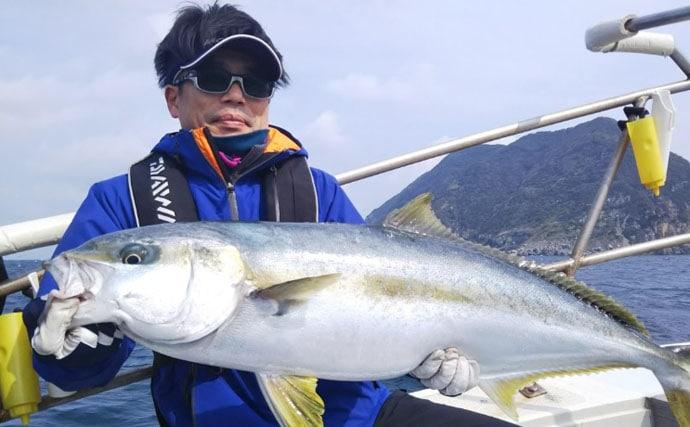 【玄界灘】タイラバ&ジギング最新釣果 マダイ40尾に13kgヒラマサ