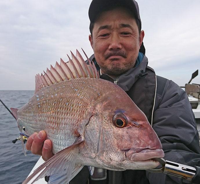 【響灘】ジギング&タイラバ最新釣果情報 大ダイに青物2ケタ安打!