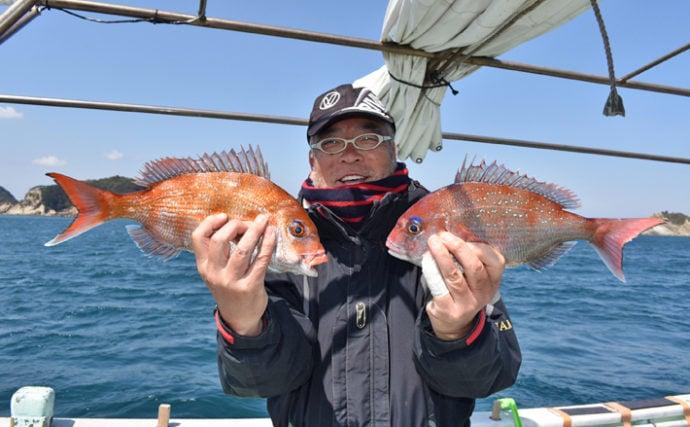 伝統釣法『高仕掛け(高道具)』で釣る桜鯛【和歌山県・加太沖】