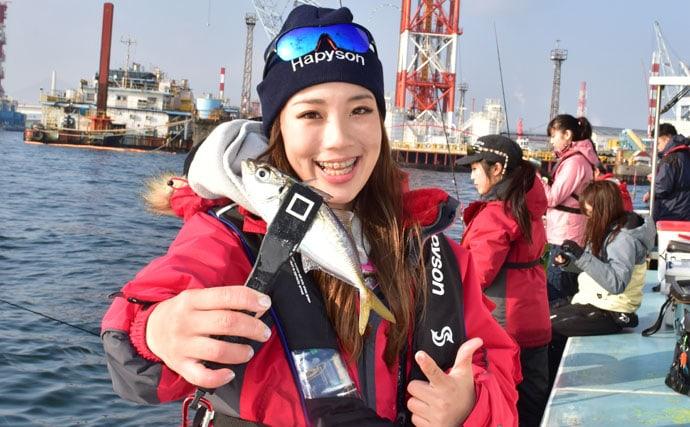 TSURIJOY女子会でわいわいアジ連発!【東京湾・渡辺釣船店】