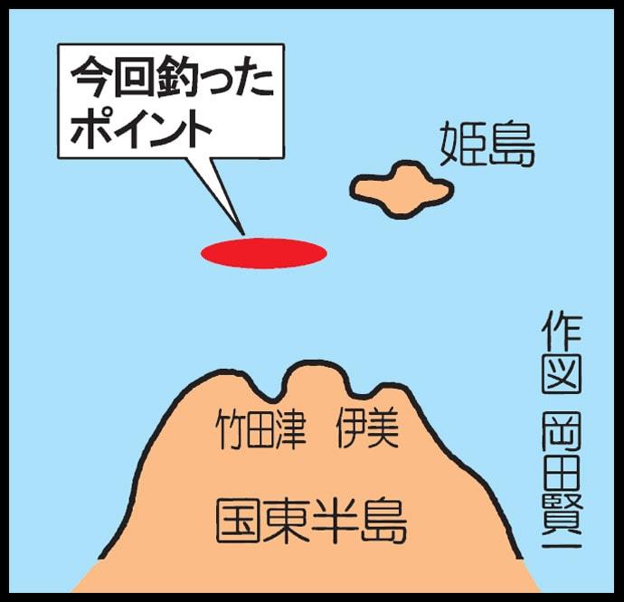 タイラバ釣行で50cm超マダイ 好ゲストのヒラメも【大分・姫島沖】