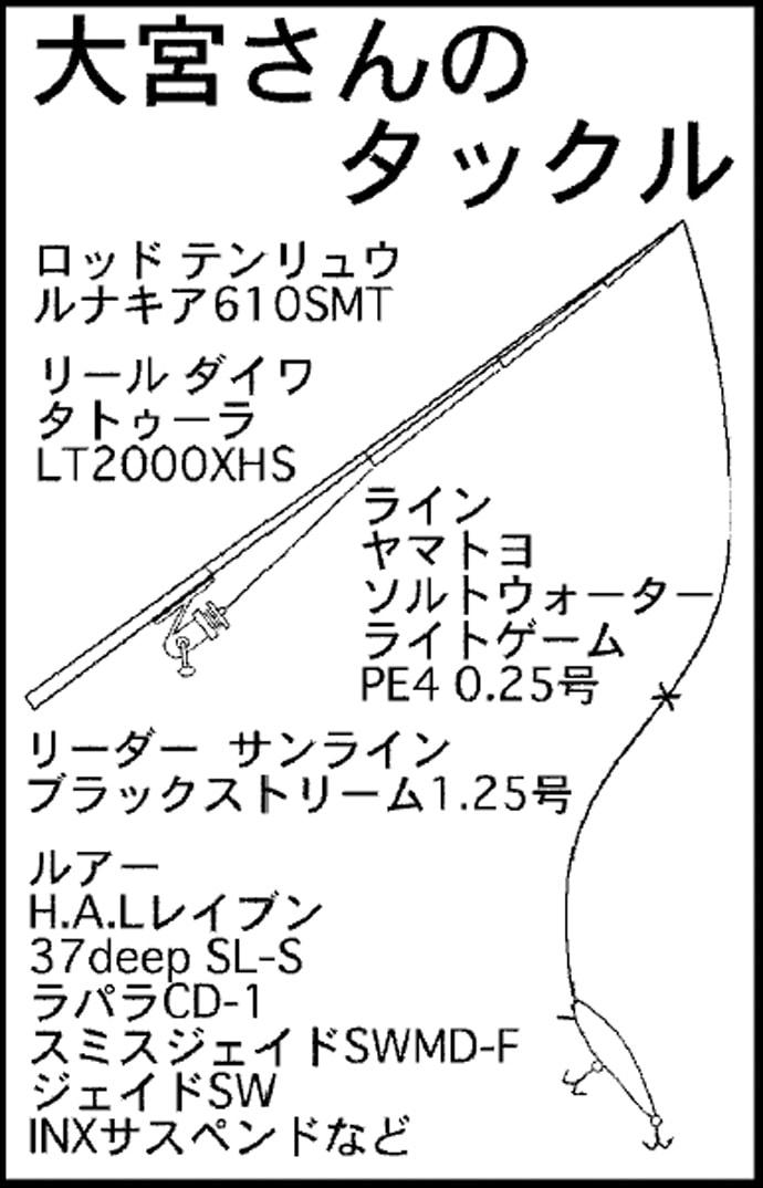 2デイズメバルプラッキング28cm頭に連発 ベイトからパターン導く