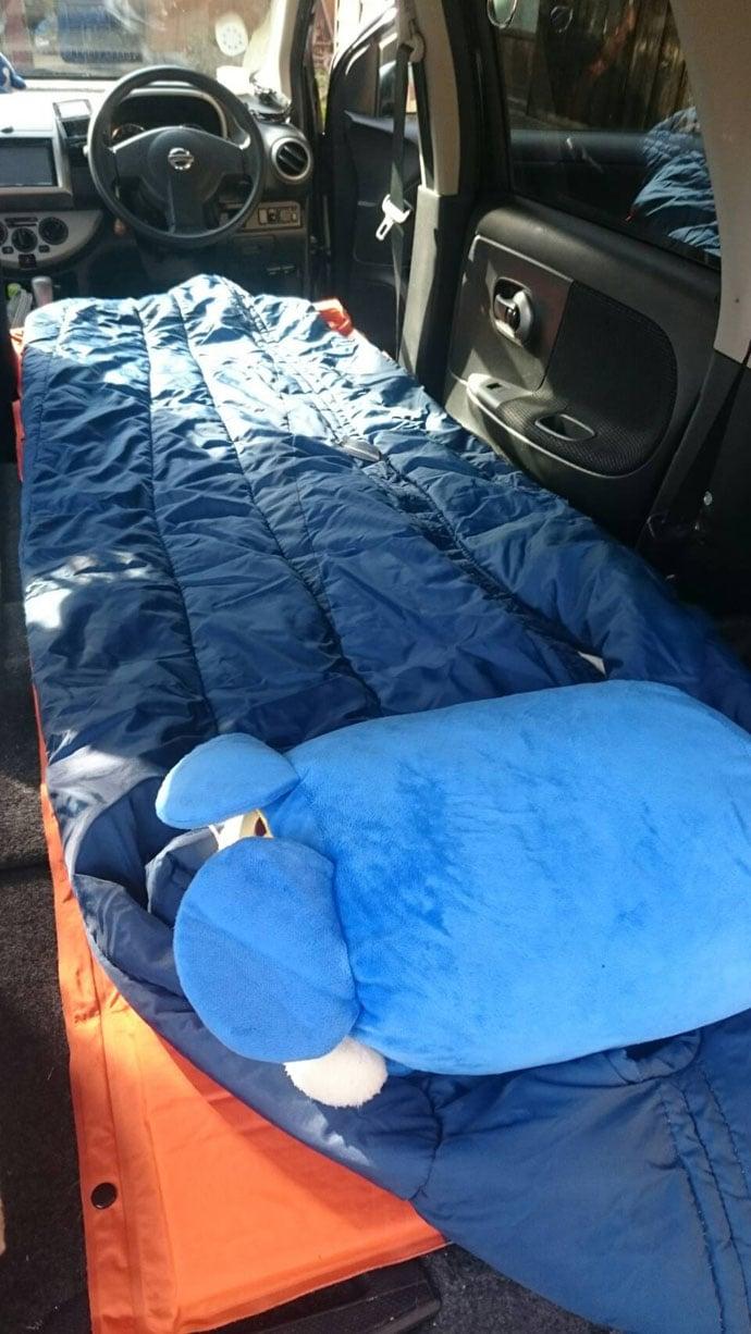 車中泊活用で自然派女子ステップアップ 寝顔バレ防止に一手間レシピも