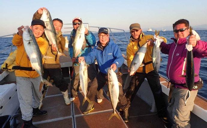 【玄海灘】ジギング最新釣果 大型ヒラマサに6kgタカバ(マハタ)