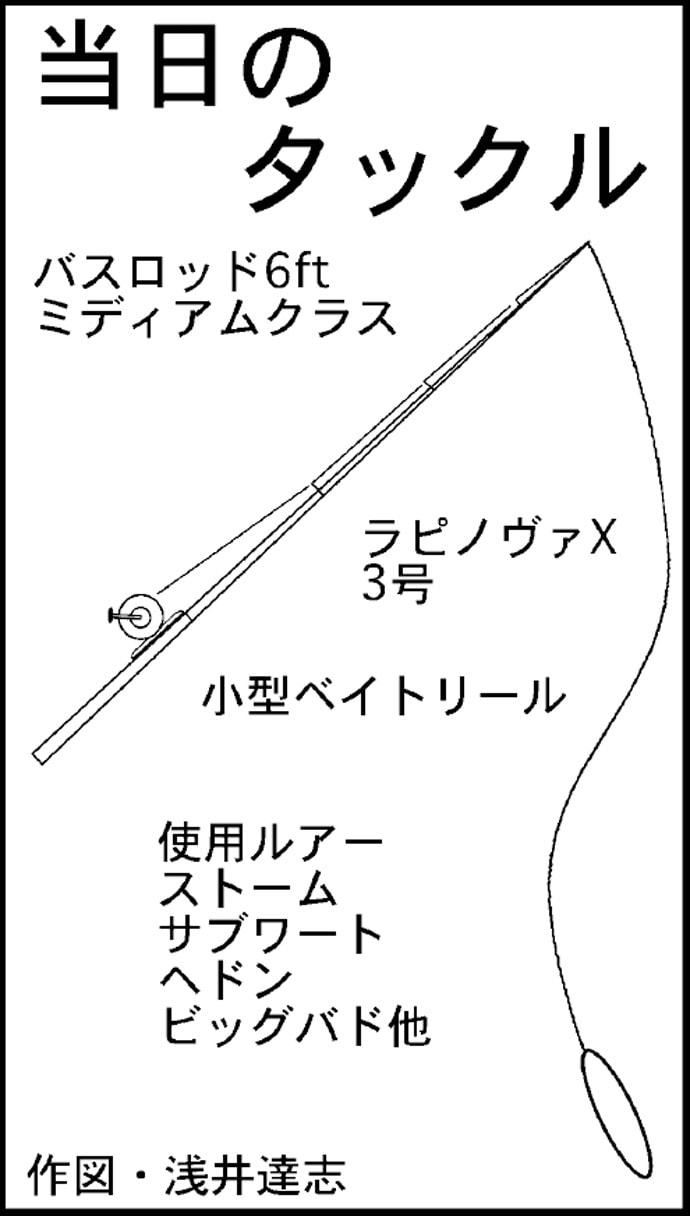 ナマズゲームで63cm頭に2尾 バイトは控えめ?【愛知県・日光川】
