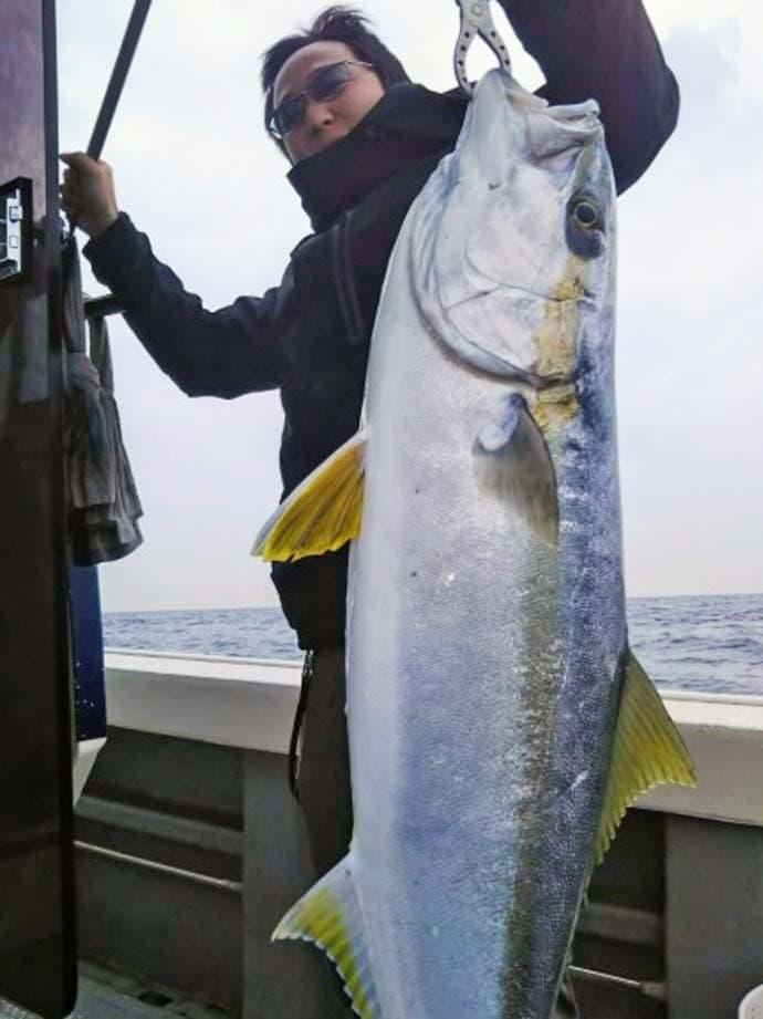 【響灘】船釣り最新釣果情報 乗っ込みマダイに13.4kgヒラマサも
